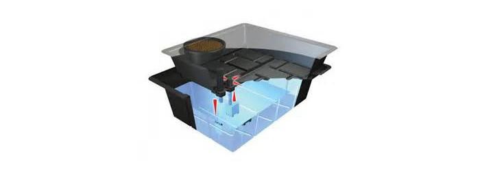 Systeme table à marée